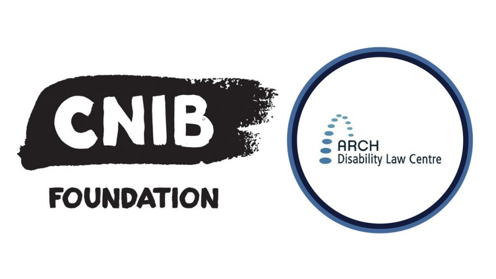 CNIB Foundation and ARCH logos