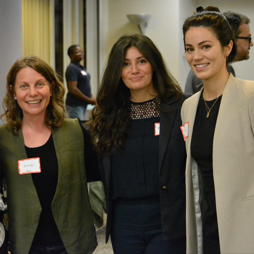 ARCH lawyers Kerri Joffe, Mariam Shanouda and Jessica De Marinis