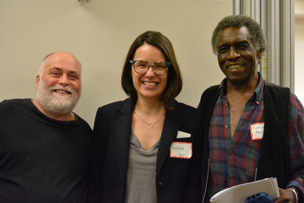 Paul Cochrane, Mariana Versiani and Clement Hicks