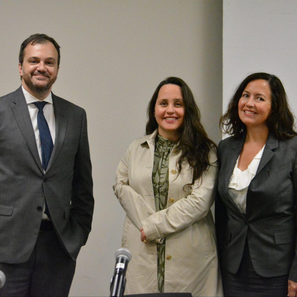 Robert Lattanzio, Wendy Porch and Anne Borden King