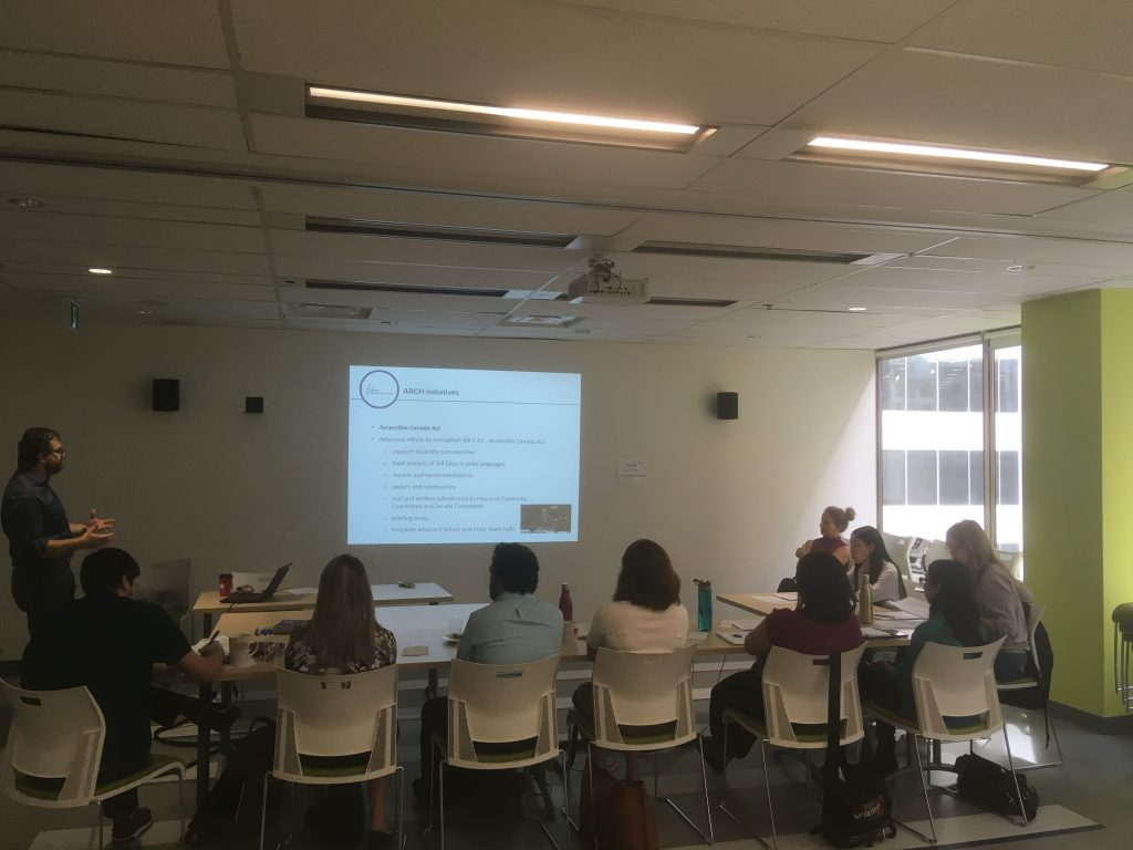 Rob Lattanzio and students during DLI training