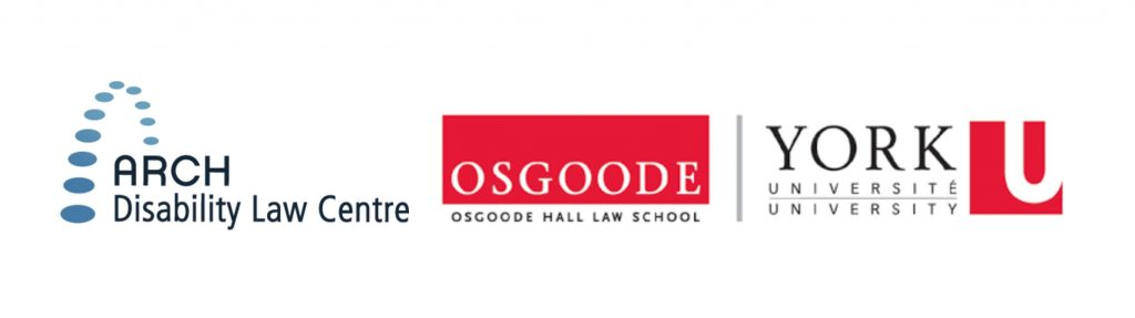 logos for ARCH and for Osgoode Hall Law School